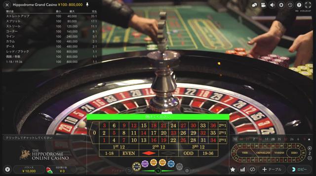 Hippodrome Grand Casino:ヒポドロームグランドカジノ│ウィリアムヒルライブカジノ
