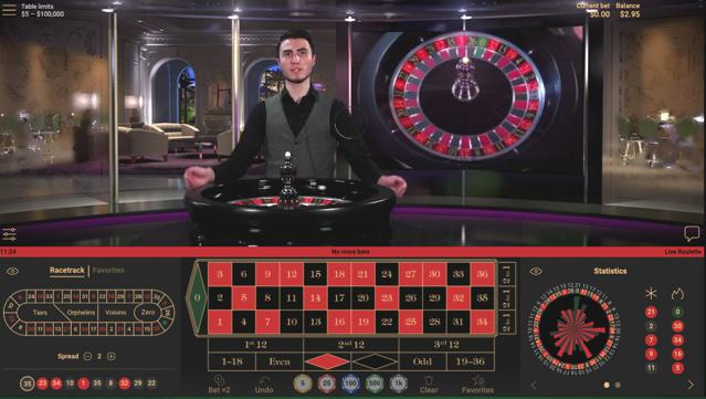 EUROPEAN ROULETTE HIGH LIMIT