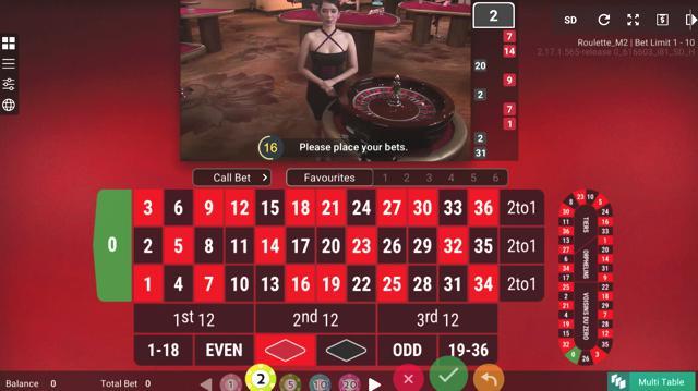 ビットカジノのライブルーレットはハイローラー対応で万ドルベットが可能か?