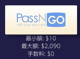 ギャンボラ VISAカードの最小入金額と入金上限金額は?