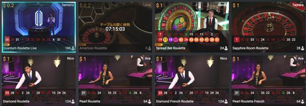 カリビアンカジノのライブルーレットのゲーミングプロバイダーはどこ?