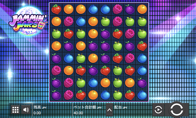 パイザカジノでJammin Jars(ジャミン・ジャーズ)のスロットがプレイできる!