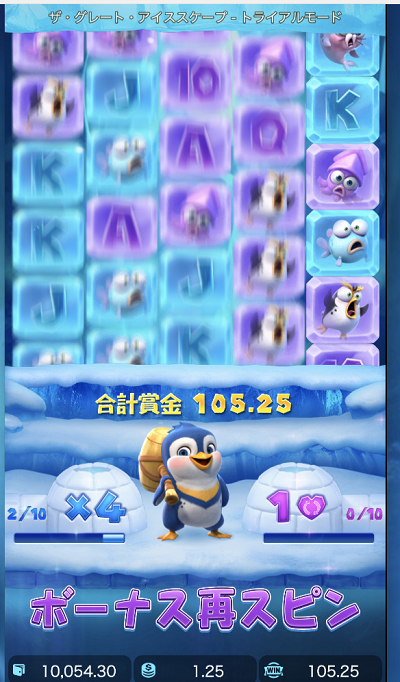The Great Icescapeのスロット情報