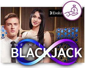 カジノシークレットのINFINITE BLACKJACKのトーナメント詳細情報は?