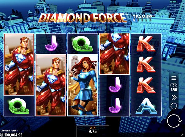 DIAMOND FORCE(ダイアモンドフォース)の最新スロット情報