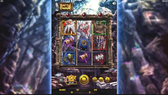 ライブカジノハウス 平均ペイアウト率ランキング7位 Battle Dwarf(Golden Hero Games)