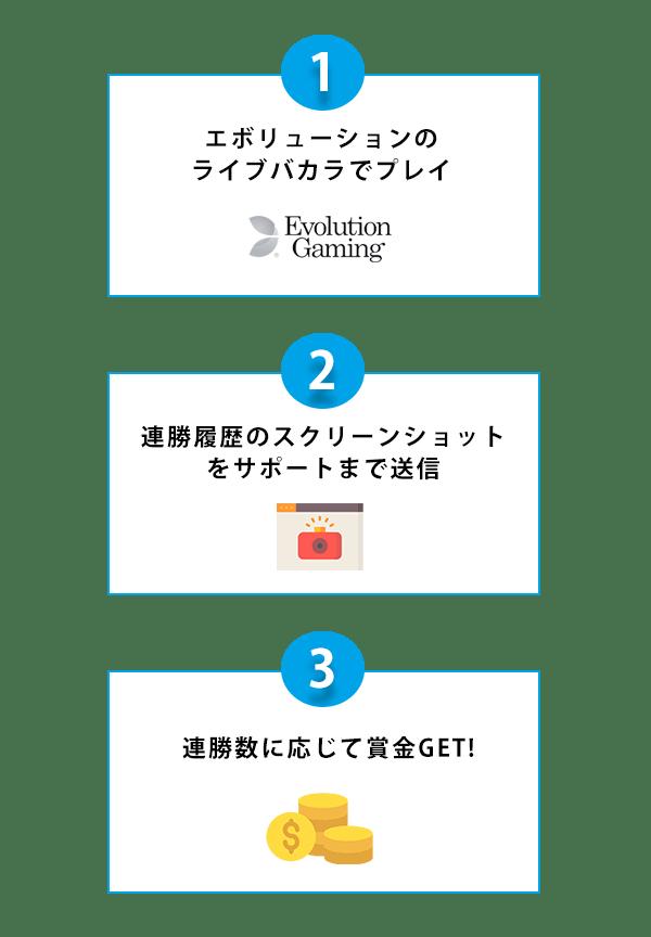 最大50,000円 バカラ連勝現金チッププレゼント│パイザカジノの夏トクキャンペーン