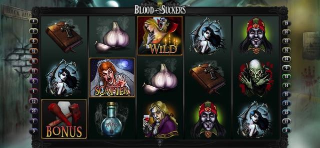 BLOOD SUCKERS(NETENT)8月ランキング10位 ラッキーニッキー