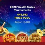 【10月31日まで】ビットカジノPlay'n Goのウェルスシリーズトーナメント!