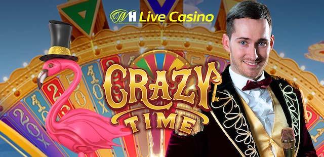 ウィリアムヒルカジノのクレイジータイムでボーナスキャンペーンとは?