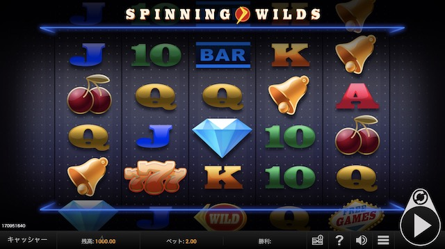 Spinning Wildsとはどんなスロットか?