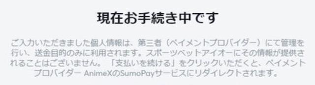 Sumo Pay(スモウペイ)で個人情報がビットカジノに送信されないのか?