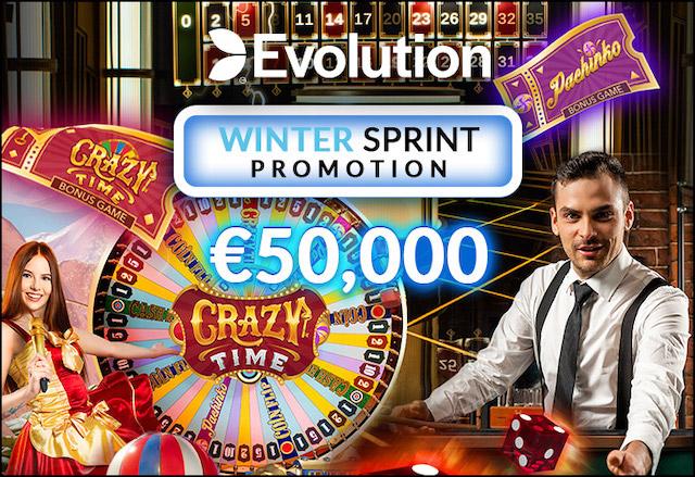 ラッキーカジノのウィンター・スプリントキャンペーンとは?