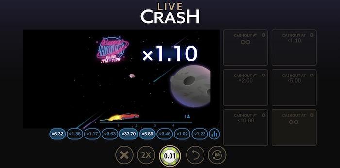 Live Crash(ライブクラッシュ)とはどんなゲームか?
