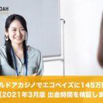 【2021年3月版】エルドアカジノで145万円出金、出金時間が早い?遅いか徹底検証!