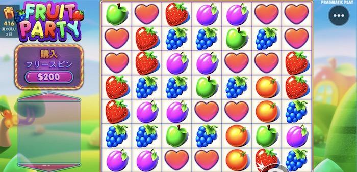 Fruit Party(フルーツパーティー)の基本スペックや平均ペイアウト率は?
