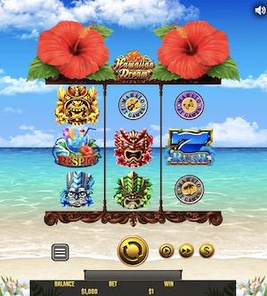 Hawaiian Dream(ハワイアンドリーム)で900万円超えのビッグウイン!