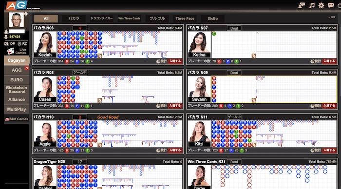 エルドアカジノのアジアゲーミングの特徴やプレイ可能なゲームは?