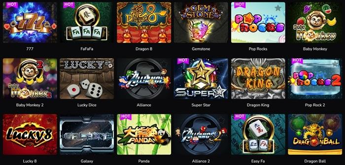 ワンダーカジノでプレイ可能なAMEBA(アメーバ)社のスロットゲームは?