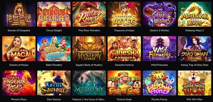 ワンダーカジノでプレイ可能なPOCKET GAMESCOM SOFT(ポケットゲームズ ソフト)社のスロットゲームは?