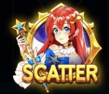 Starlight Princess(スターライトプリンセス)のスキャターシンボルは?