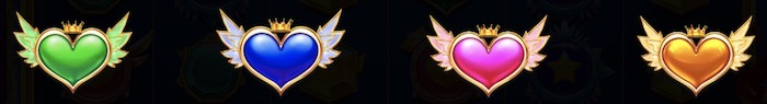 Starlight Princess(スターライトプリンセス)の乗数シンボルは?