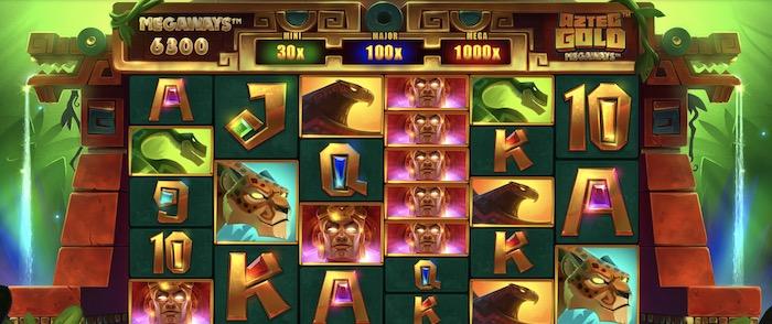 アズテック ゴールド メガウェイズ(Aztec Gold Megaways)│クイーンカジノおすすめスロット