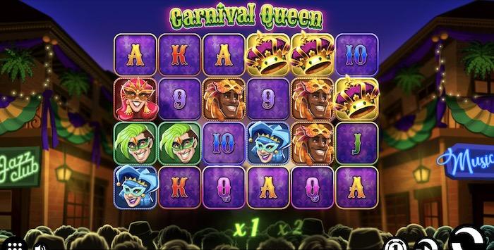 カーニバル クイーン(Carnival Queen)│クイーンカジノおすすめスロット