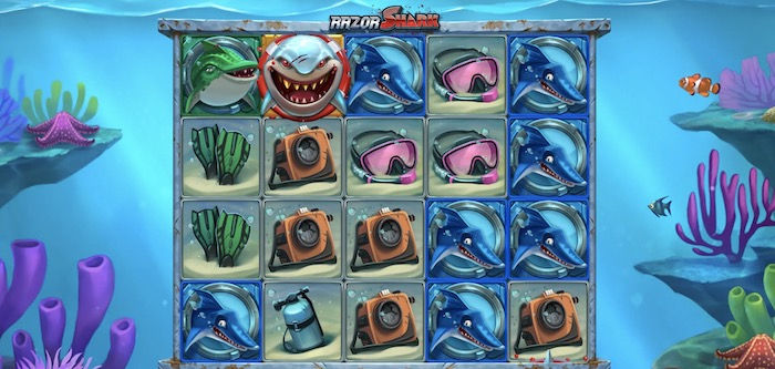 レザーシャーク(Razor Shark)│クイーンカジノおすすめスロット